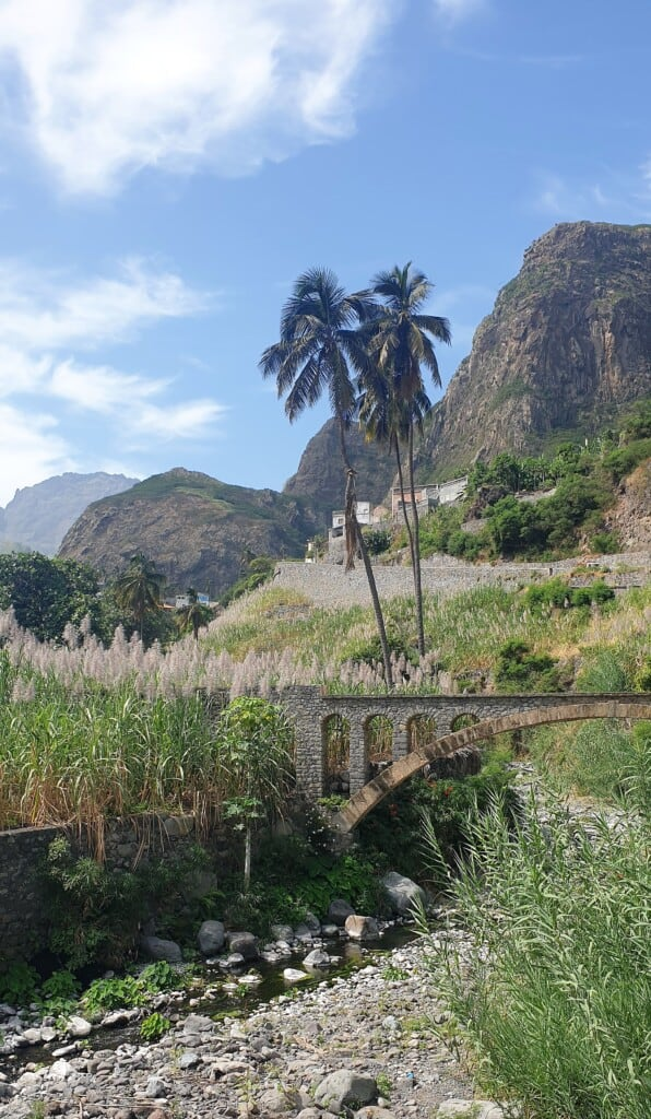 hiking trails in santo antao views