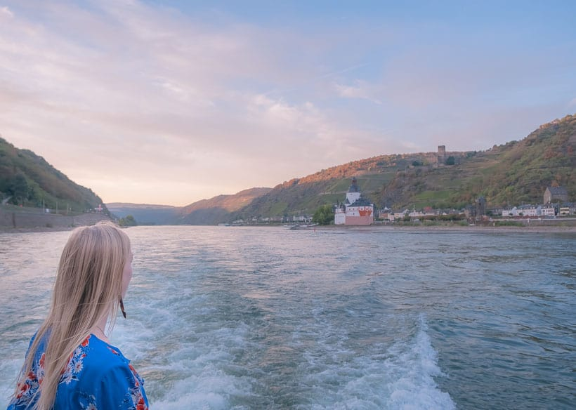 the best towns along the rhine river, going for a rhine cruise
