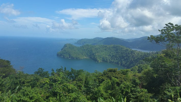 things to see in trinidad, view of trinidad island