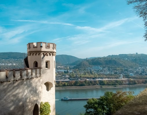 best towns on the rhine river, things to do in rhine valley, germany, tourism, castle, rhine gorge, rhine river cruise, rhine river map, middle rhine, rhine cities, towns, river ryne, rhine romantic route map, stolzenfels fortress