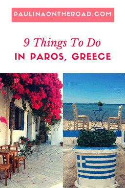 What to do on Paros, Greece? Explore the sister island od of Mykonos in the Cyclades which is famous for it water sports. The ideal day trip from Santorini