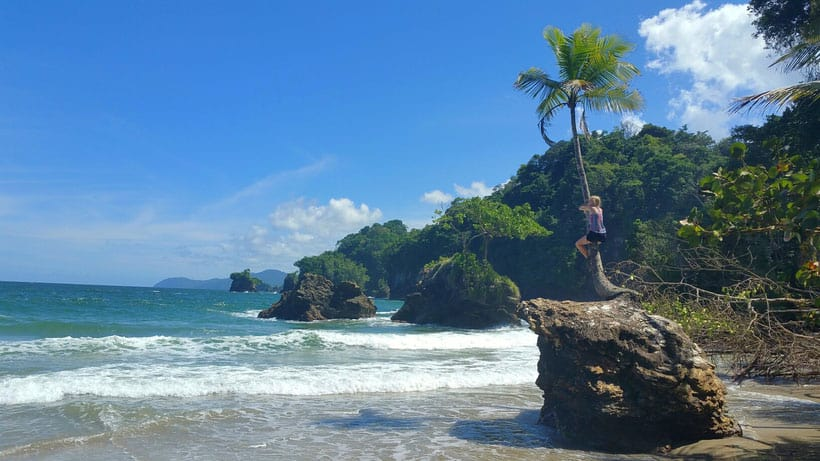 fun things to do in trinidad, climbing a tree on the beach