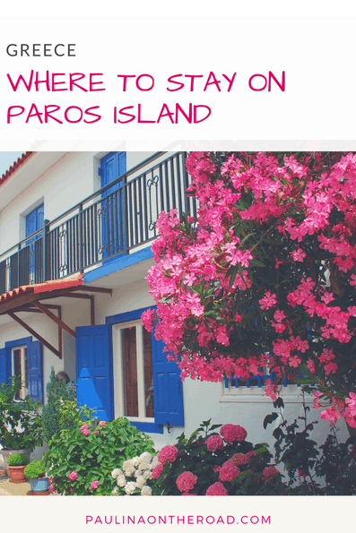 Where to Stay on Paros, Greece for your holidays? A selection of luxury resorts, boutique hotels, apartments, villas and cheap hotels. Find the best place to stay according to your needs and expectations like hiking, beaches or honeymoon in Naoussa or Paros. #travelblog #paros #cycladicislands #greece #visitgreece #summerholiday #greecetravel #vacationingeece #holidaygreece