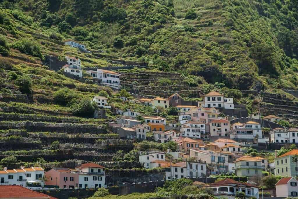 top things to do in madeira, hiking in madeira, 25 fontes, water fall, traditional huts, funchal, what to do in madeira