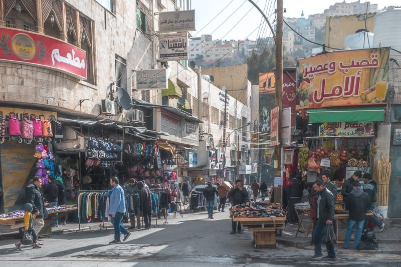 What to do in Amman Jordan, The markets of downtown Amman