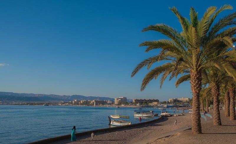 aqaba attractions, al-ghandour beach aqaba