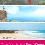 A Guide to Cape Verde Holidays in winter: which is the best Cabo Verde island, the best Cape Verde beaches, hiking and how to spend Christmas in Cape Verde. #capeverde #caboverde #wintersun #winterholidays #capeverdeholidays #capeverdeislands #capeverdesal #capeverdepeople #capvert #wintersun