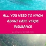 Are you planning Cape Verde holidays? Don't leave without Cape Verde travel insurance. This guide is about where and how to get the best Cape verde vacation insurance #capeverde #travelinsurance #healthinsurance #capeverdean #capeverdeanholiday #caboverde