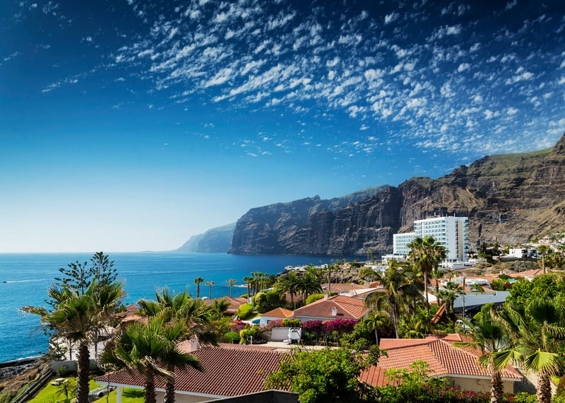 Best Family Hotels in Tenerife, best view of Hotels in south tenerife