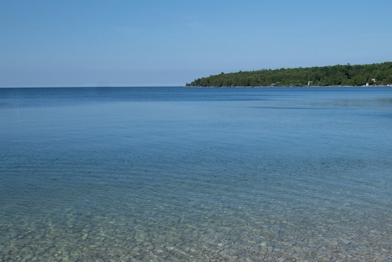 Best Things to do in Door County, WI, View of Schoolhouse Beach, Washington Island, Wisconsin