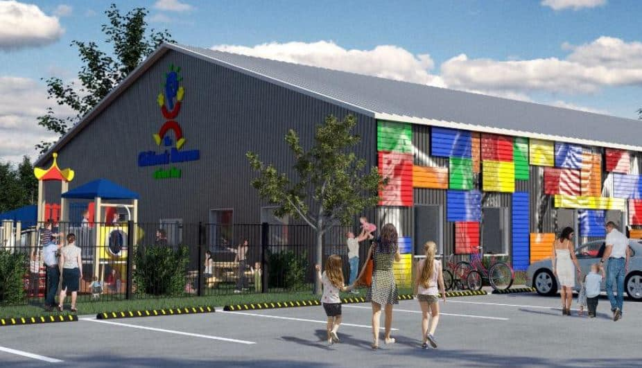 Things to do in Green Bay, front view of Children's Museum, Green Bay