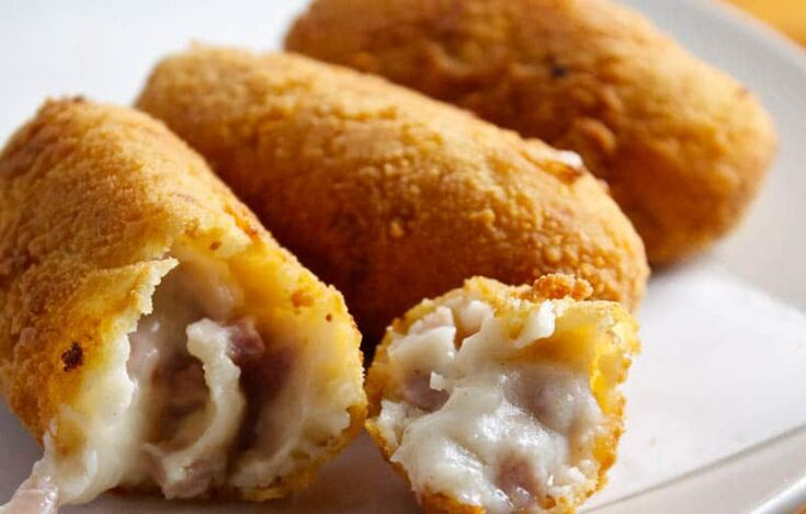 What to eat in Spain, Croquetas dish