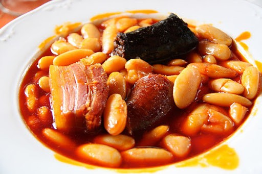 things to eat in Spain, Fabada dish from Asturias