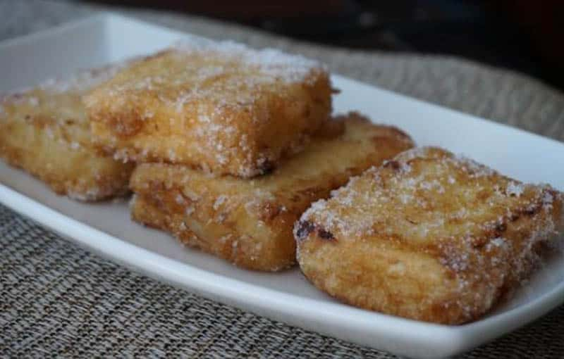 What to eat in Spain, Leche Frita dish