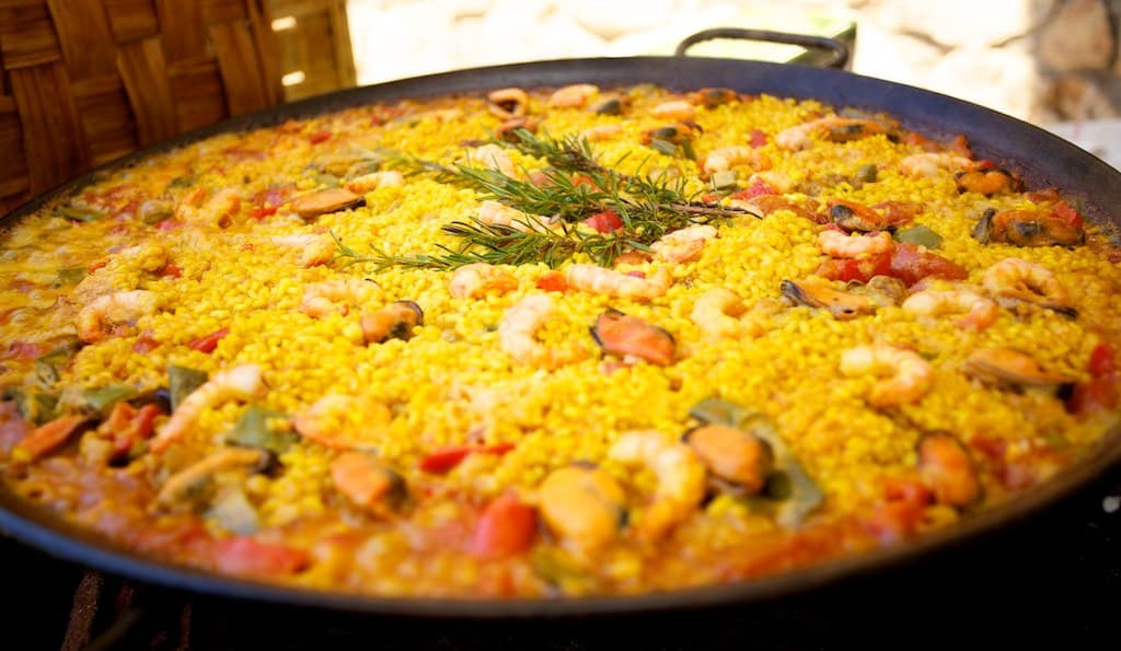 What to eat in Spain, Paella dish from Valencia
