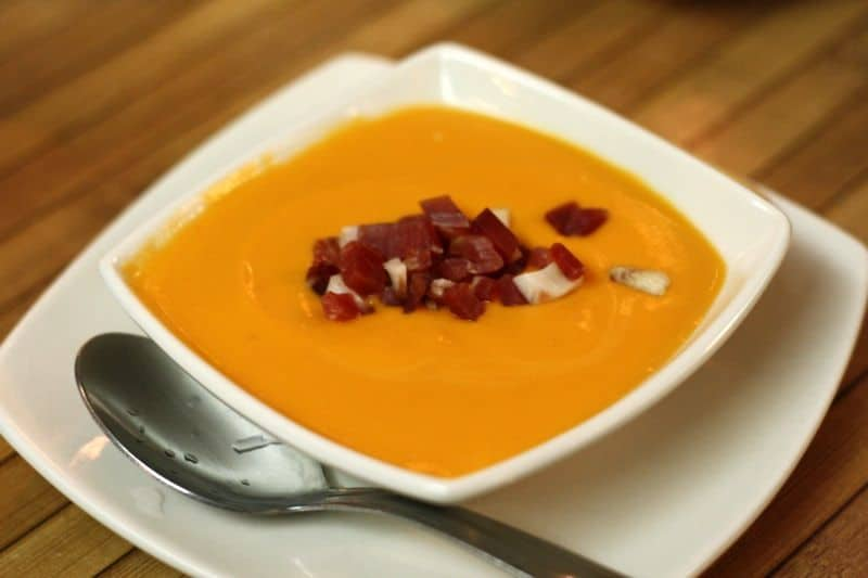 traditional Food from Southern Spain, Salmorejo dish