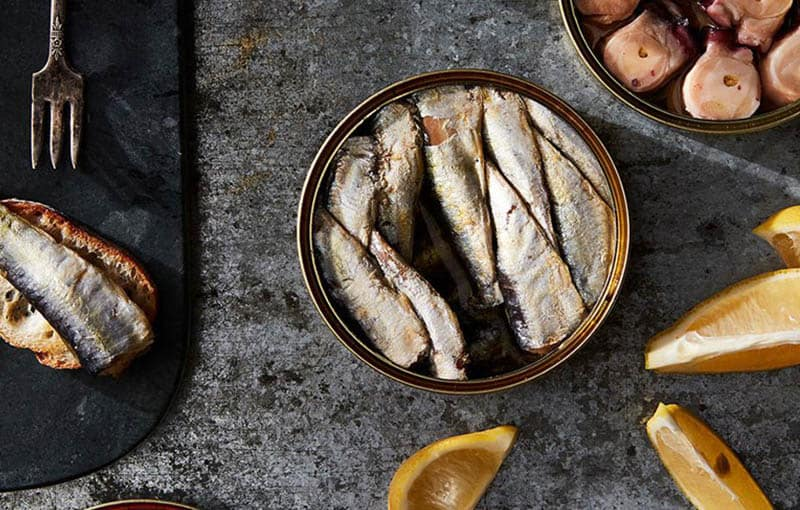 famous Dishes in Spain, Tinned Seafood dish
