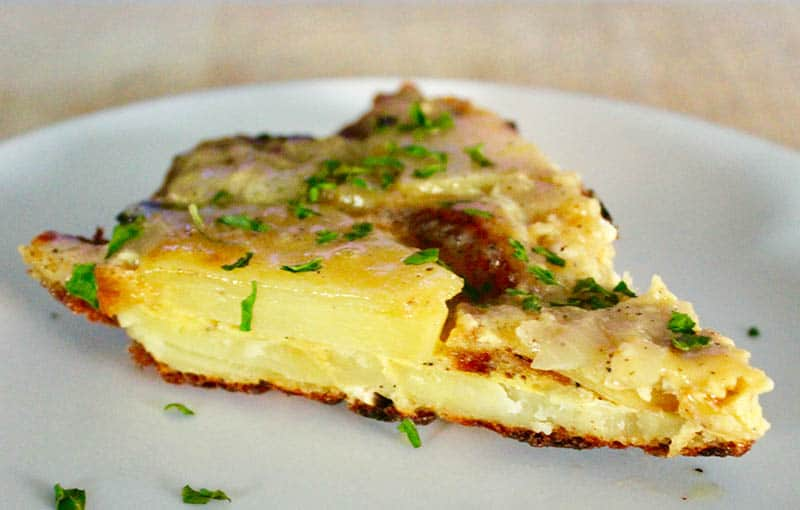 What to eat in Spain, Tortilla Española, Spanish Omelet dish