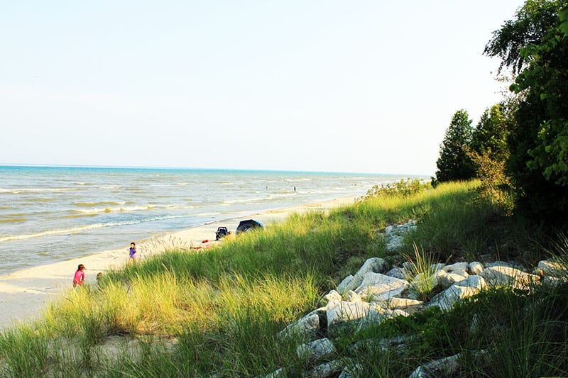 family things to do in Green Bay, Wisconsin, point beach state park beaches in Green Bay, WI