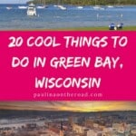 Are you looking for things to do in Green Bay, Wisconsin? Oh yes, there is so much more to this Wisconsin town than the Green Bay Packers only! Besides watching a Packers' Game there is a myriad of things to do in Green Bay. This Green Bay, WI guide takes you to the best attractions in Green Bay, WI but includes also the best restaurants in Green Bay, Wisconsin and the best hotels for a getaway in Green Bay. Enjoy a quirky, sporty town! #greenbay #greenbaypackers #greenbaywisconsin #wisconsin